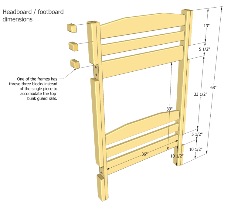 double bed how to build